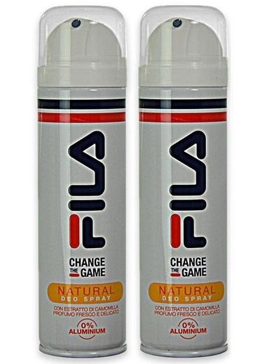 Fila Fila Change The Game Natural 150 ml x 2 Deodorant Sprey Set Renksiz